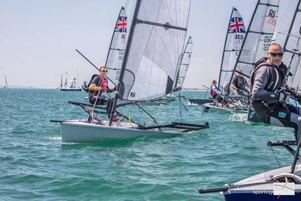 Start - RS Sailing RS700 Summer Championship 2017 © Sportography.tv