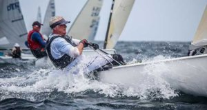 Day 4 of the Finn World Masters in Barbados © Claire ADB