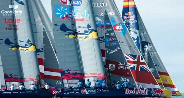 Red Bull Youth America's Cup – Pool B Qualifiers Day 1 © Xaume Olleros for Red Bull Content Pool
