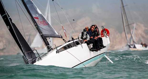 Delamare and Mordret's JPK 1080 Dream Pearls – Cowes Dinard St Malo Race © Paul Wyeth