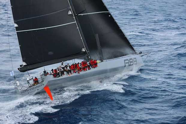 George David's Rambler 88 – Cowes Dinard St Malo Race © Tim Wright / Photoaction.com http://www.photoaction.com