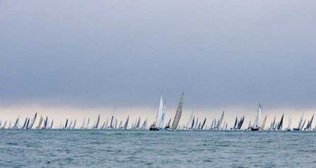 Nine of the top twenty finishing yachts in the Round the Island Race were FAST40+ Paul Wyeth