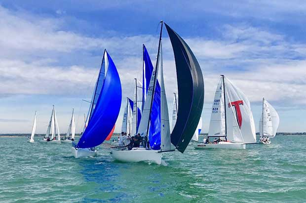 J/70 UK National Championship - Day 1 © Key Yachting / Louay Habib