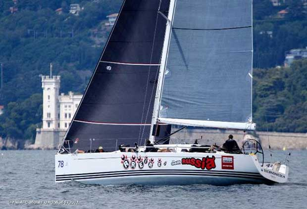 Technonicol's Russian team takes the early lead after two races scored in Class B © Andrea Carloni