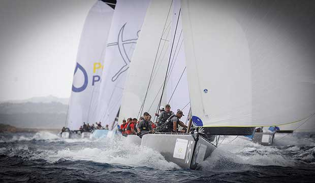 Nico Poons and Charisma finshed the final race in second place - 2017 RC44 Porto Cervo Cup © Nico Martinez http://www.nicomartinez.com