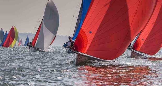 Tasmania Difficult Women (Rob Gough) at the SB20 world championships on The Solent - Day 2 - SB20 World Championship 2017 Jennifer Burgis