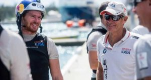 Australians, tactician Tom Slingsby (left) and Grant Simmer - Oracle Team USA - Bermuda, September 2016 © Sam Greenfield/Oracle Team USA http://www.oracleteamusa.com