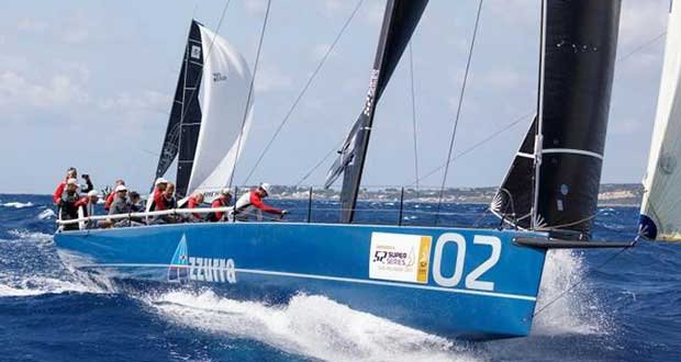 Azzurra ready for the grand finale of the 52 Super Series in Menorca © Nico Martinez / Martinez Studio