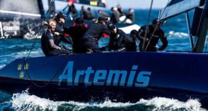 Artemis Racing's Team Manager Iain Percy taking over as tactician in Cascais © Martinez Studio
