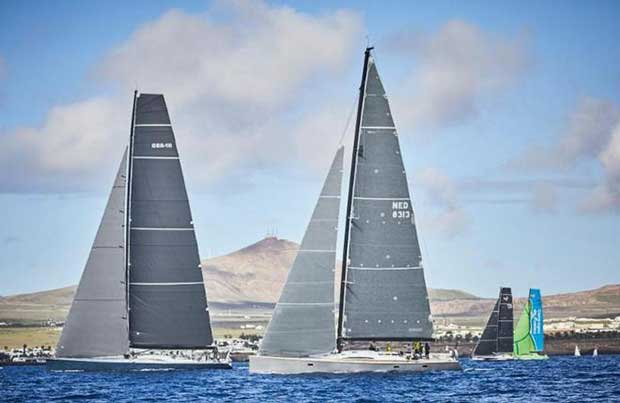 The spectacular volcanic island of Lanzarote makes an impressive backdrop for the RORC Transatlantic Race and Marina Lanzarote will once again host the start of the Atlantic-bound fleet © James Mitchell / RORC