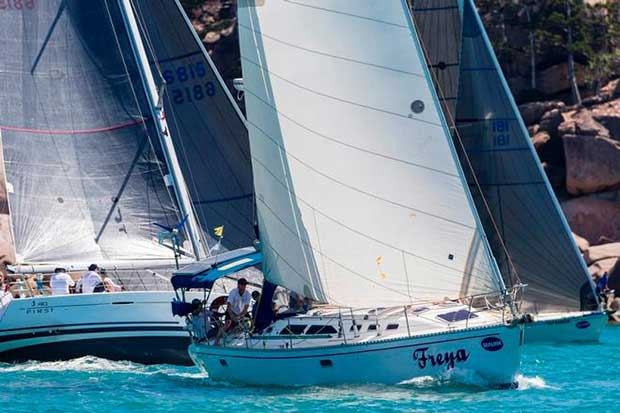Freya gets amongst it – SeaLink Magnetic Island Race Week © Andrea Francolini / SMIRW