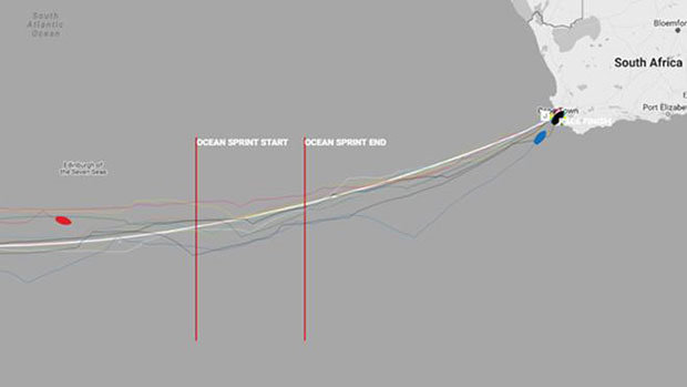 Race positions at time of publishing - 2017-18 Clipper Round the World Yacht Race © Clipper Round The World Yacht Race http://www.clipperroundtheworld.com