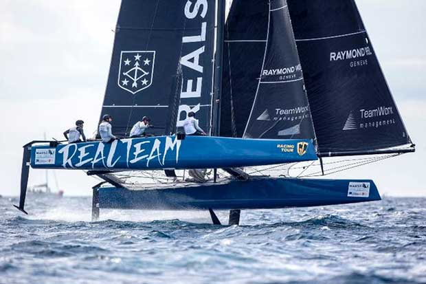 Realteam hopes to dispatch Argo to claim the 2017 GC32 Racing Tour Championship © Sander van der Borch
