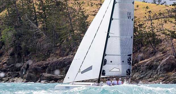 Tony Considine's Fury Road rounds Dent Island during Hamilton Island Race Week - Marlay Point Overnight Race 2018 Fleur Stone