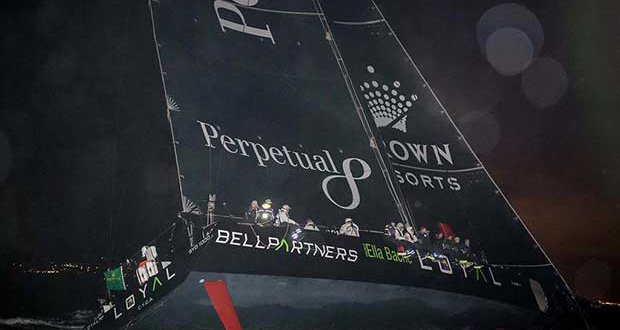 Perpetual LOYAL on her way to a new record © Rolex/ Kurt Arrigo http://www.regattanews.com