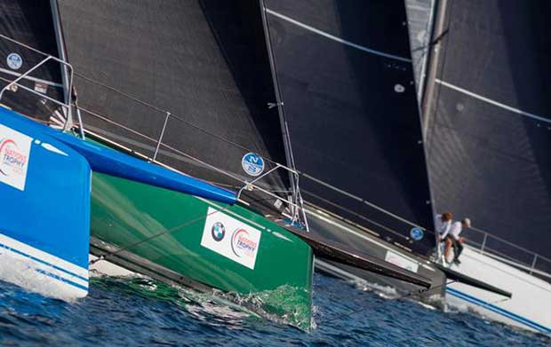 Day 2 – 11 ClubSwan 50 line up in Palma – The Nations Trophy © Nautor's Swan / Studio Borlenghi