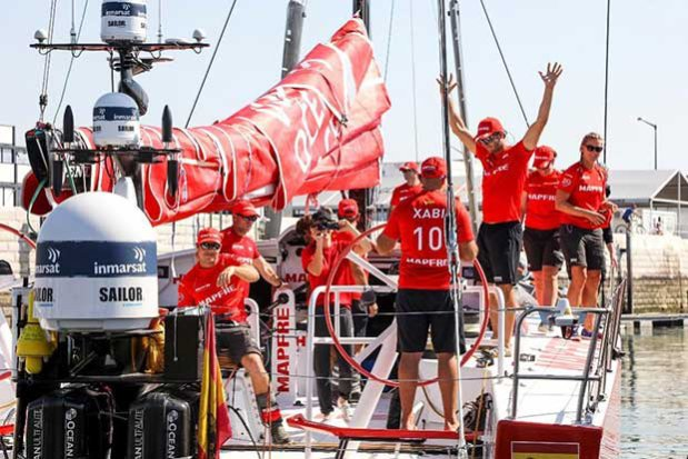 MAPFRE at the Prologue - Volvo Ocean Race © Jesus Renedo http://www.sailingstock.com