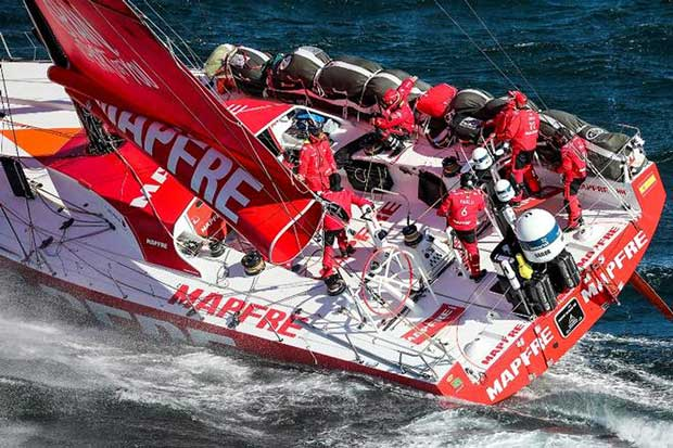 Leg 2. Arrivals from Lisbon to Cape Town – Volvo Ocean Race © Ainhoa Sanchez/Volvo Ocean Race