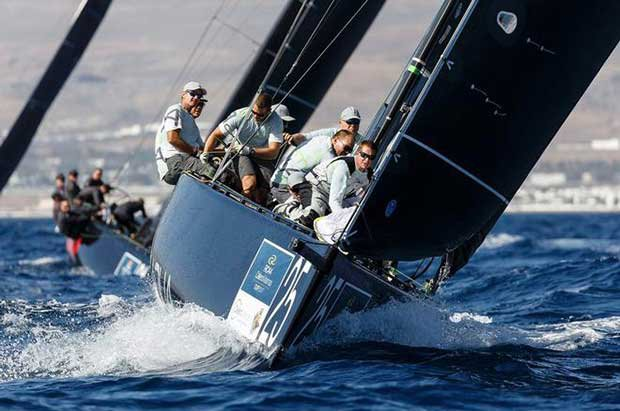 At the end of day one Team Aqua leads by just one point - RC44 Calero Marinas Cup 2017 © Martinez Studio / RC44 Class
