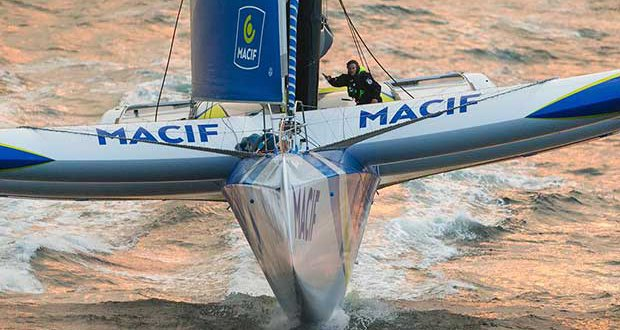 Solo Round the World - MACIF © Jean-Marie Liot / ALeA / Macif