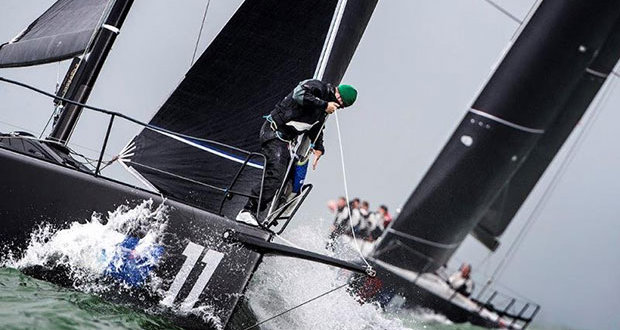 The season opener will be a non-scoring training regatta in the Solent on 21-22 April. © Richard Langdon / www.oceanimages.co.uk