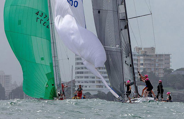 Clueless and Banshee – Helly Hansen Women's Challenge © Crosbie and Dale Lorimer