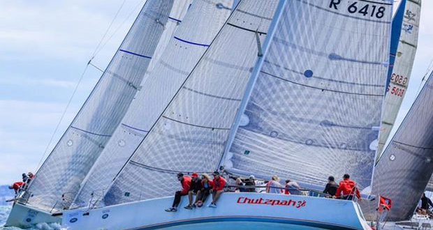 Chutzpah 38, Sydney 38s, Sunday, day three of racing, Festival of Sails 2016, Geelong © Craig Greenhill / Saltwater Images