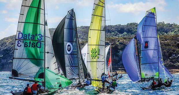 2017-18 Peroni Australia 16ft & 13ft Skiff Championships - Race 1 - photo © Michael Chittenden