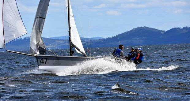 Rob Gough, a former world champion in sailboards and foiler Moths - photo © Jane Austin