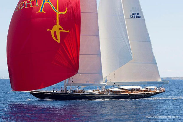 The mighty Athos during the 2011 edition of the SYC © Claire Matches / www.clairematches.com