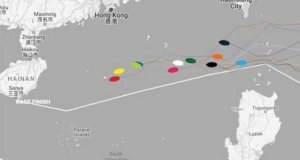 Current positions – Clipper Round the World Yacht Race 7: The Forever Tropical Paradise Race, Day 21 © Clipper Race