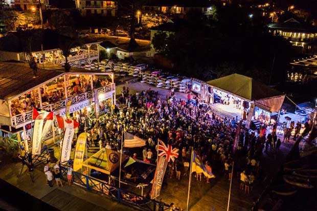 Celebrations all round at the 10th edition RORC Caribbean 600 prizegiving held at Antigua Yacht Club - photo © RORC / Arthur Daniel