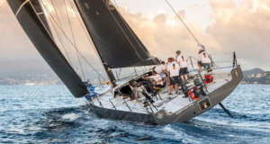 Eric de Turckheim's French Teasing Machine is one of eleven French boats competing in the RORC Caribbean 600 Race this year © RORC / Arthur Daniel