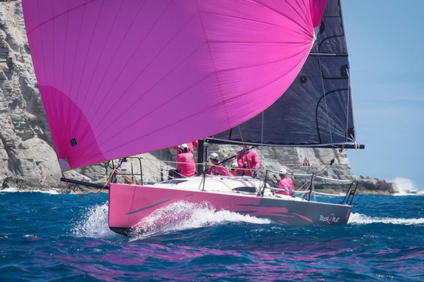 Rob Butler's Touch2Play Racing at the 2017 St. Maarten Heineken Regatta - photo © Laurens Morel / www.saltycolours.com