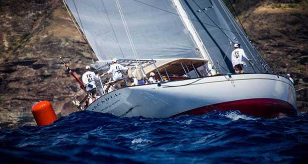 90ft Hoek designed sloop Acadia - Superyacht Challenge Antigua - photo © Emma Louise Wyn Jones