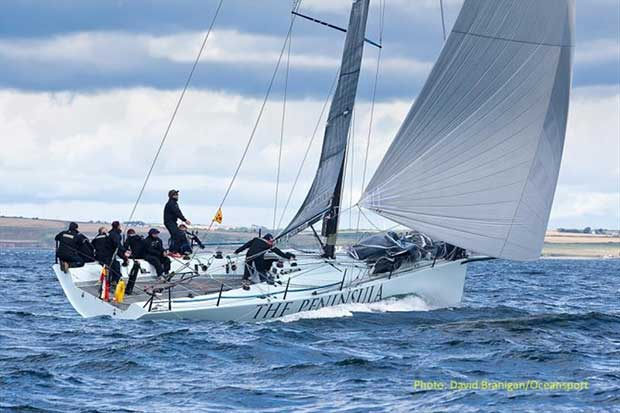 Jamie McWilliam's Signal8 from the Royal Hong Kong YC is a confirmed entry for the inaugural Wave Regatta in Howth on the June Bank Holiday weekend © David Branigan / Oceansport