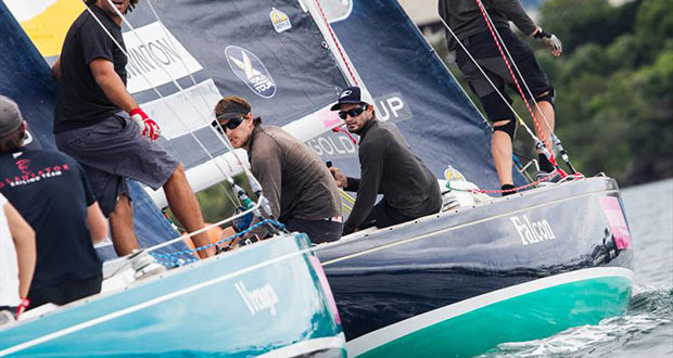 Keith Swinton in action during the Finals of the Argo Group Gold Cup - photo © Robert Hajduk / WMRT