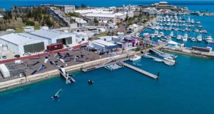 Bacardi Moth Worlds in Bermuda day 4 postponed due to light winds © John Singleton