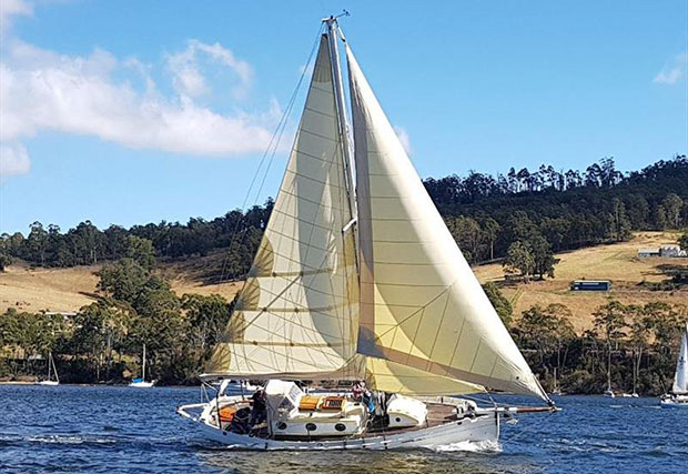 April of Cygnet competing in the Port Cygnet Yacht Club Regatta last weekend - photo © Jessica Coughlin