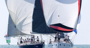 Pilgrim versus Y Knot - Sealink Magnetic Island Race Week 2017 - photo © Andrea Francolini