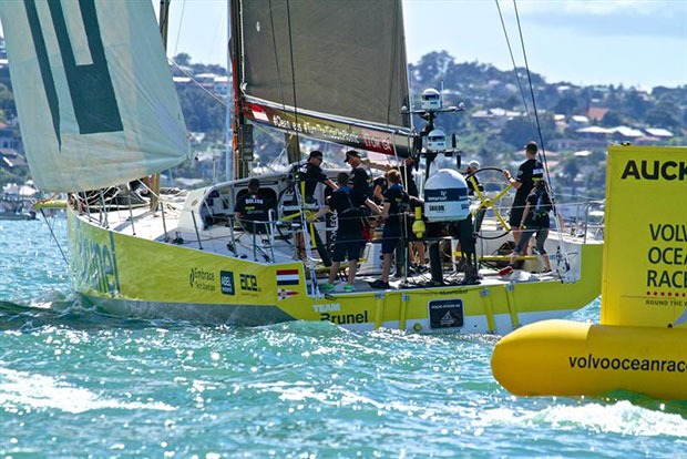 MAPFRE - Volvo Ocean Race - Auckland Stopover In Port Race, Auckland, March 10, - photo © Richard Gladwell