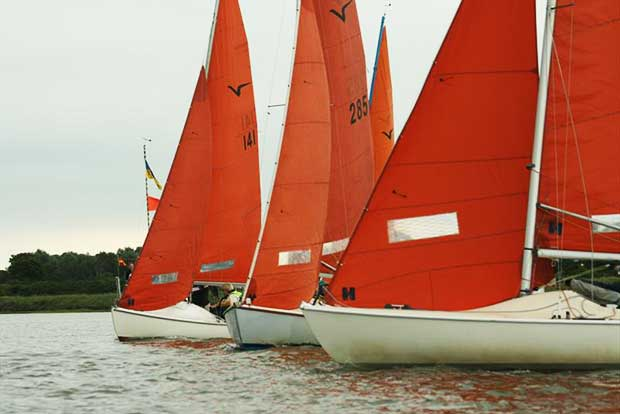 Broadland Squib Regatta © Matt Harper