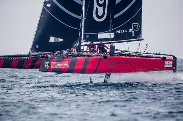 From Argentina, Federico Ferioli's Código Rojo Racing joins for their first full season - photo © Jesus Renedo / GC32 Racing Tour