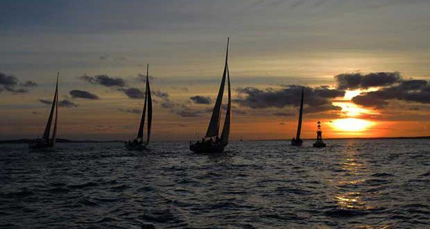JOG fleet at sunset © JOG