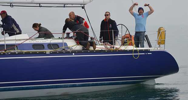 Blue Extacy during the Poole Yacht Racing Association Pursuit Race © Roger Bond