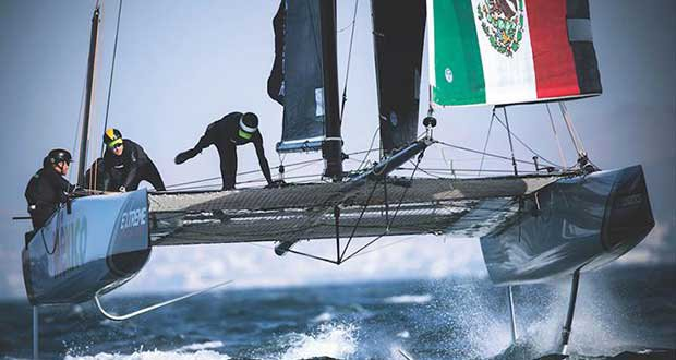 The Extreme Sailing Series 2017. Act4 - Team Mexico © Lloyd Images