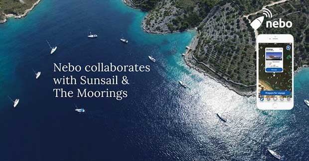 Nebo collaborates with Sunsail & The Moorings © Nebo