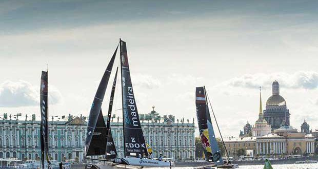 Act 5, Extreme Sailing Series Saint Petersburg 2016 - Day 3 © Lloyd Images