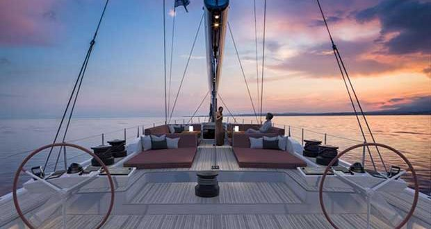 New Swan 98 - photo © Nautor's Swan