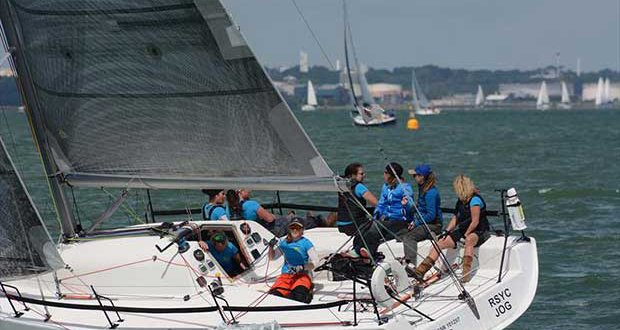 Njos at the Dubarry Women's Open Keelboat Championship 2017 © Trevor Pountain